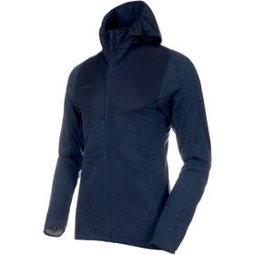 Mammut Alvra ML Hooded Jacket Men peacoat melange-peacoat